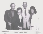 Shirley sings with Dad Roy Carter in Chuck Wagon Gang