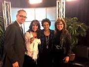 Shirley with Allison Speer, Mary Fay Jackson, Matt Linton