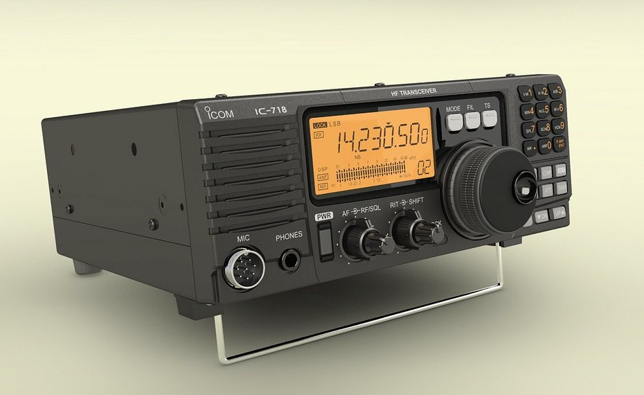 ICOM IC-718 Transceiver-2