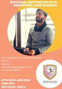 Learn Basic Course of Intuitive Tarot by Jitesh Madahar Instructor with Awakening Love Academy
