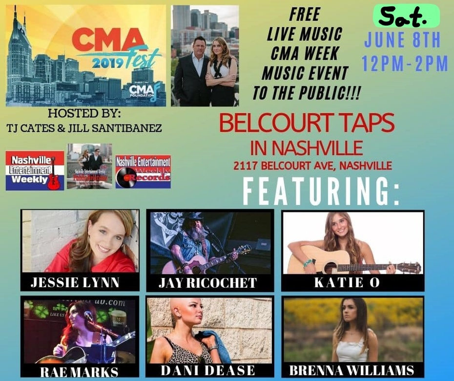 Jessie Lynn at CMA Fest - Sat. June 8th
