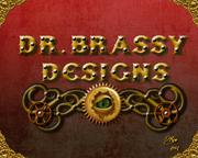 Dr. Brassy Designs Logo