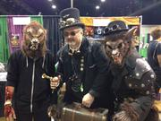 Sam & Richter Omega, Steampunk Werewolf