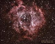 Rosette Nebula (2nd attempt for more detail)