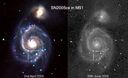 Supernova SN2005cs in M51
