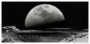 Meteor Crater Moon