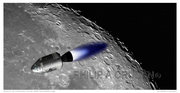 Apollo VIII Achieving Lunar Orbit