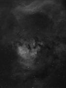 NGC7822 Hydrogen Alpha Emission Line