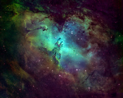 Eagle Nebula, Messier 16