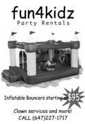 Fun4Kidz Party Rental