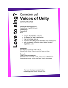 Voices of Unity Choir