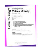 Voices of Unity Choir