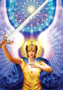 1. Blue Ray of Power, Will or Purpose and Protection