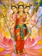 Maha Shakti, The Divine Light of the Mother