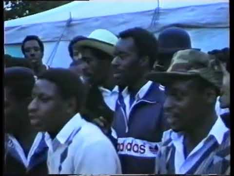 UK Vintage Clip - DJ James 'Speng' Bond - Live on Roadblock Sound @ Birmingham Carnival, UK - 1987