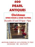 400 Pearl Antiques in San Antonio Christmas Open House