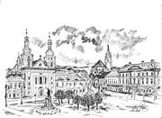 Tg.-Mureș la 1900: Piața Trandafirilor