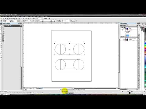 Corel Draw  Combine vs Weld