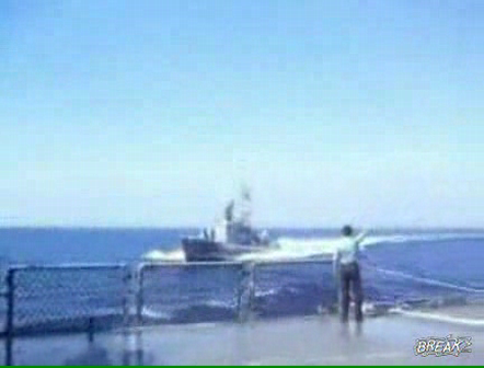 Navy Boats Collide