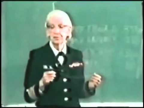 Rear Admiral Grace Hopper - Nanoseconds