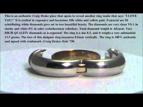 Craig Drake  Engagement Ring - Wedding ring - Engagement Ring