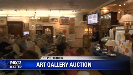 FOX 13 - Burchard Galleries - Art Gallery Auction