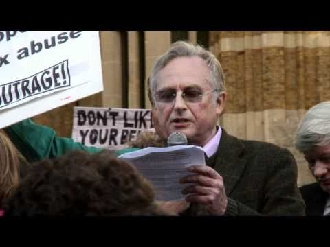 """Richard Dawkins' Speech at """"Protest the Pope"""" March"""