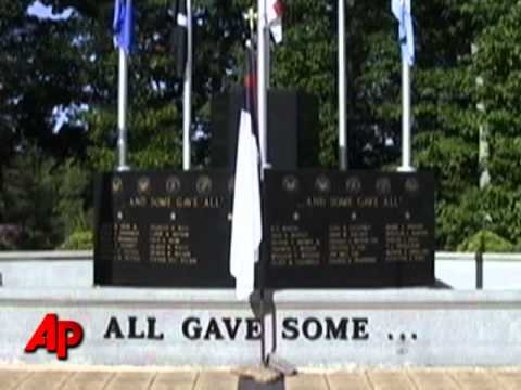 NC Veterans Protest Christian Flag Removal