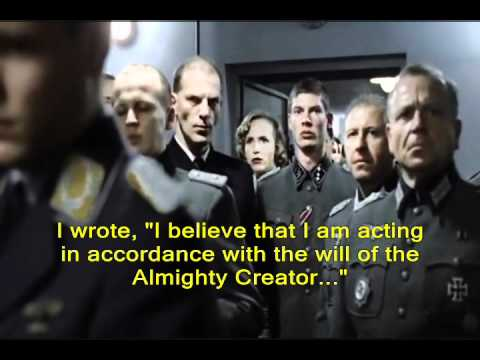 Hitler Learns Christians Claim He Is An Atheist