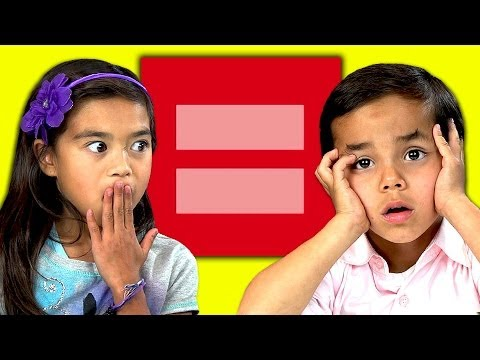 Kids React to Gay Marriage