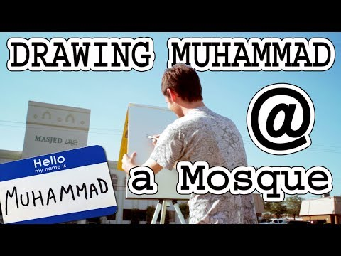Drawing Muhammad at a Mosque
