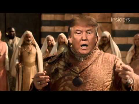 Donald Trump   Game of Thrones   Winter is Trumping