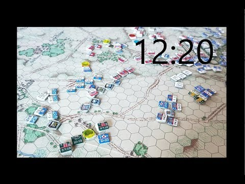Waterloo - 12:20pm - D'Erlon activates his corps while French cavalry harass the Allied west flank