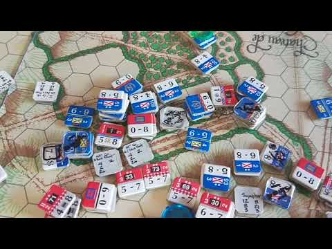 Waterloo - 2:40pm - The Imperial Guard advances, and British morale suffers.