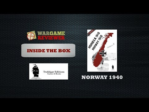 189.4.- Norway 1940 (Trafalgar Editions): inside the box