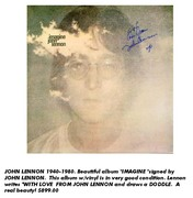 John Lennon Forgeries by Forever Legends