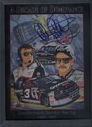 Dale Earnhardt Sr. Autographed Decade of Dominance Book