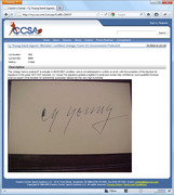 Real of Fake? Morales-Certified Autographs in Coach's Corner Mar. 2011 Auction, Album 2