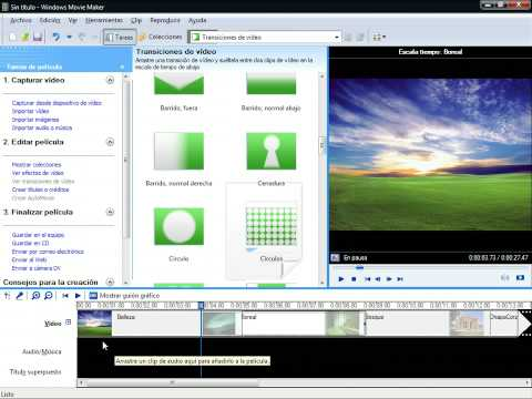 Como hacer un vídeo con Windows Movie Maker