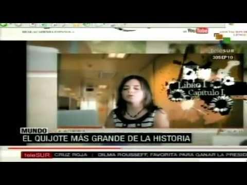 RAE y Youtube inician proyecto para lectura colectiva del Quijote en video, por Internet