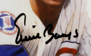 Is it Real? Ernie Banks Autograph