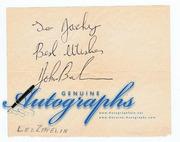 John Bonham Autograph [Led Zeppelin]