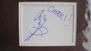Jimmy Page Autograph