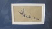 Jeff Beck Autograph