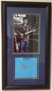 John Deacon framed and matted