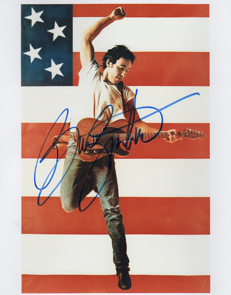 Bruce Springsteen 2 Authenticity Check