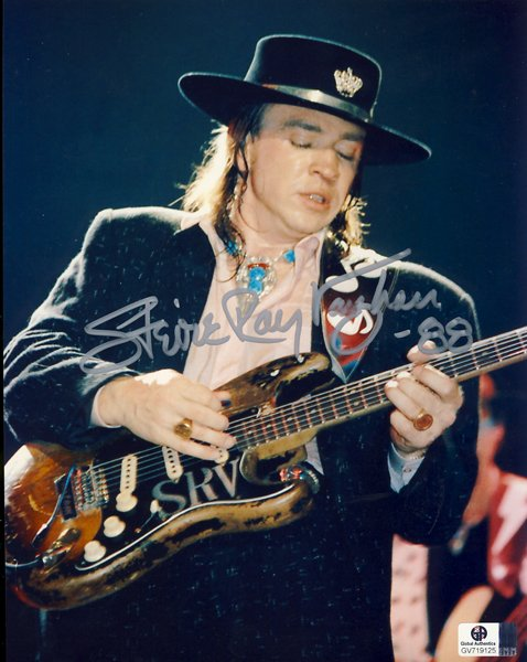 Stevie Ray Vaughan Authenticity Check