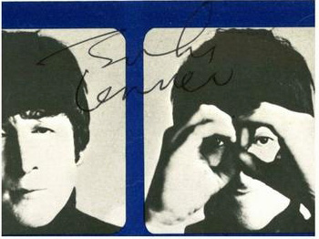 Genuine John Lennon Autograph signed July 1964