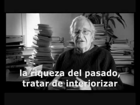 Chomsky. El objetivo de la educación
