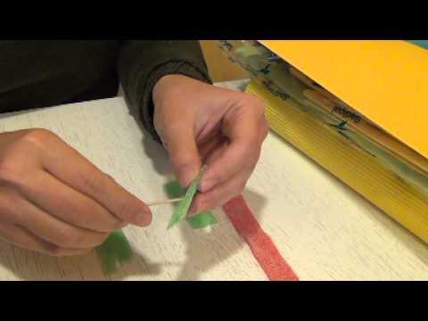 como realizar una flor de chuchuería (www.racoinfantil.com)